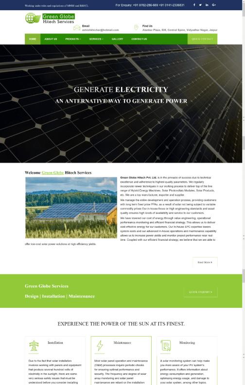 Green Globe Hitech Pvt. Ltd.