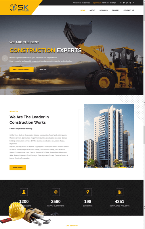 SK Services-Construction and Survey Services